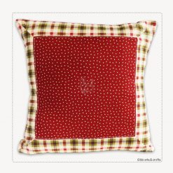 "Handmade Country Throw Pillow Cover 18"" x 18"""