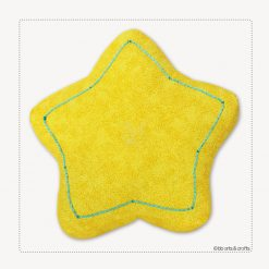 Decorative Star Throw Pillow