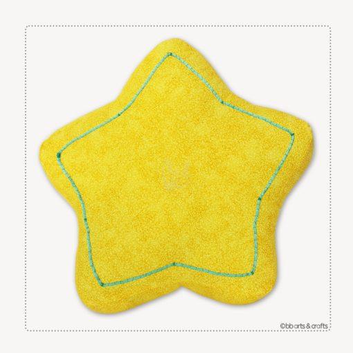 Decorative Star Throw Pillow
